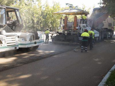 obras de asfaltado madrid - asfaltar urbanizacion