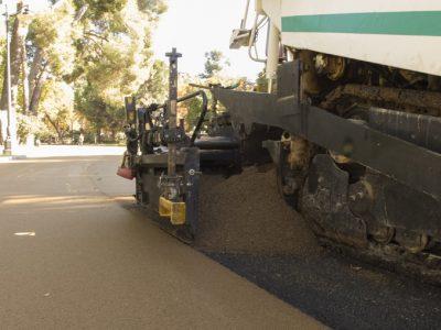 obras de pavimentacion madrid - mezcla asfaltica Paviclair