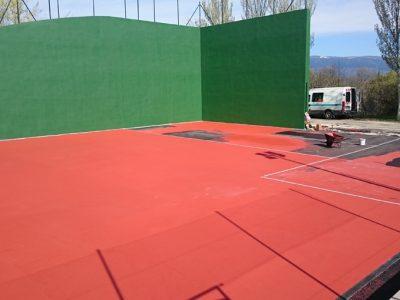 Asfalto Madrid - Pavimentacion pista tenis