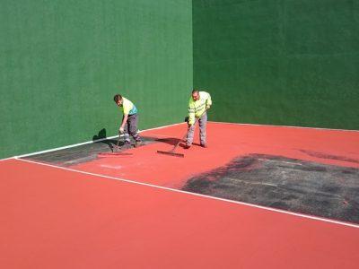 Asfaltos Madrid - Pavimentacion tenis