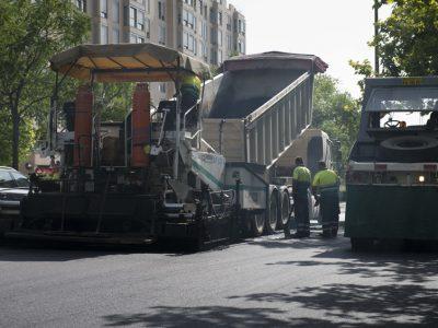 obras de pavimentacion - asfaltar vias urbanas en madrid