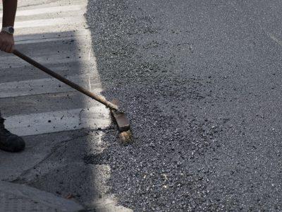 pavimento asfaltico - asfaltar calle Madrid