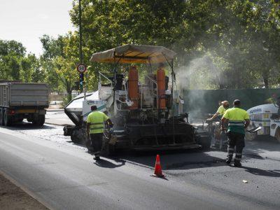 obras de pavimentacion madrid - asfaltar vias urbanas