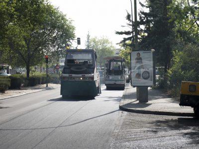 obras de asfaltado madrid - asfaltar vias urbanas