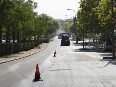 obras asfaltado madrid - asfaltar vias urbanas