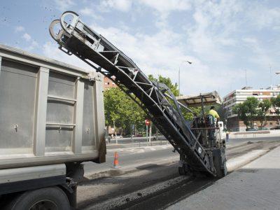 Fresado de pavimento asfaltico 2