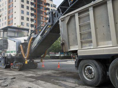 Fresado de pavimento asfaltico 3
