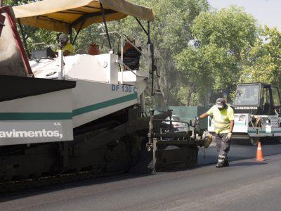 Asfaltar calles- aglomerado asfaltico