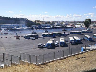 Pavimento asfaltico - Grandes superficies