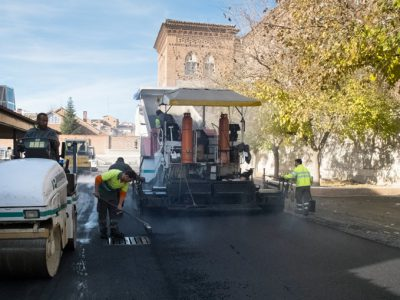 obras de asfaltado Madrid - Colegios