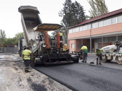 obras de pavimentacion madrid en colegios