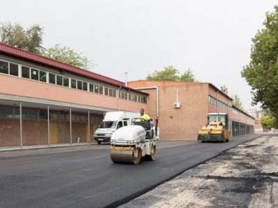 Asfaltos Madrid - Pavimentacion colegios