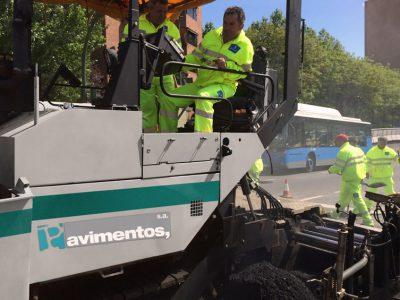 obras de pavimentacion madrid - asfaltar calles