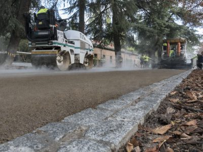 obras de asfaltado madrid - Paviclair mezcla asfaltica