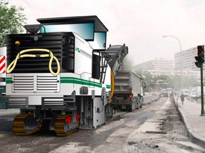 Pavimentos y Asfaltos - maquina Madrid