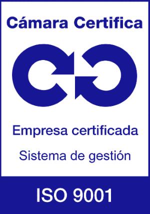 Certificado de calidad ISO 9001